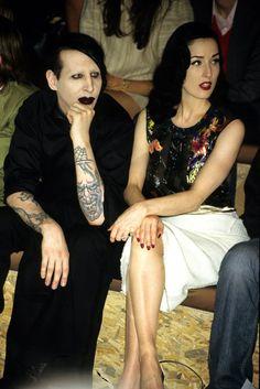 Die 82 Besten Bilder Von Marilyn Manson And Dita Von Teese Marilyn