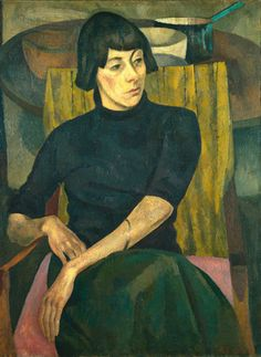 Portrait of Nina Hamnett - Roger Eliot Fry