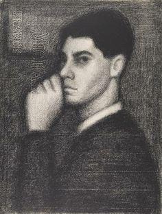 Self portrait. John Brack. c1948