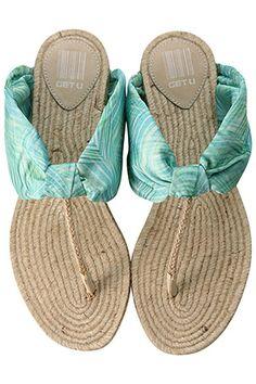 Beach shoes!