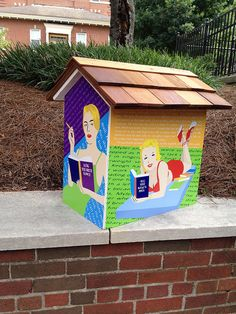 Reading is Glamorous--little free library | Flickr - Photo Sharing!