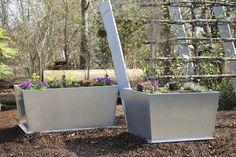 #Garten #Hochbeet #Pflanztrog #Pflanzgefäß #Edelrostoptik #Cortenstahl #Stahl #Metall Plants, Corten Steel, Stainless Steel, Metal, Plant, Planets
