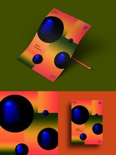 Super Gradient on Behance Layout Design, Design Art, Web Design, Design Ideas, Festival Flyer, Office Branding, Graphic Design Posters, Poster Designs, Brand Identity Design