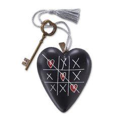 Tic Tac Toe Art Heart