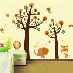 decoracion de paredes con dibujos para niños - Bing images
