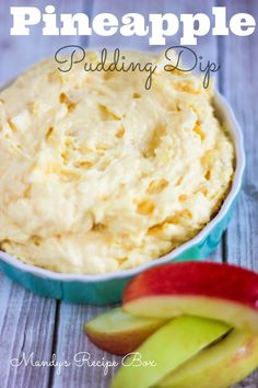 #Pineapple Pudding Dip recipe - yummy and only 4 ingredients!