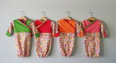 Cute pattern for baby nightgowns.  I'll need to make these in a bigger size though.  My baby is 1!