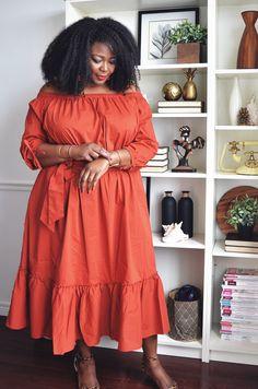 Chic Bohemian Off The Shoulder Dress Fashion Mode, Curvy Girl Fashion, Plus Size Fashion, Short African Dresses, Latest African Fashion Dresses, Plus Size Maxi Dresses, Plus Size Outfits, English Dress, Look Plus Size