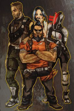 Borderlands 2 by anjakes