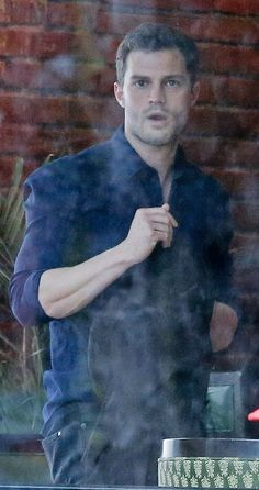 Jamie Dornan on set of Fifty Shades Darker in Vancouver