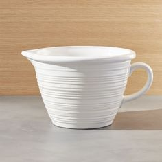 Farmhouse White Batter Bowl - Crate and Barrel