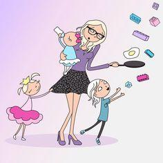 Mãe ilustra momentos da gravidez (e da maternidade) com bom humor – Bebe.com.br