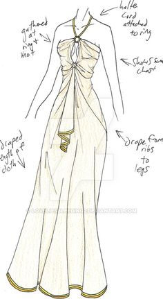 PLEASE NOTE: I do not allow any use of my designs. again, for Asthenah...and again, probably as realistic as a faux plant. but I wanted to play with the Leia-ish idea of a metal bra with sashes &gt...