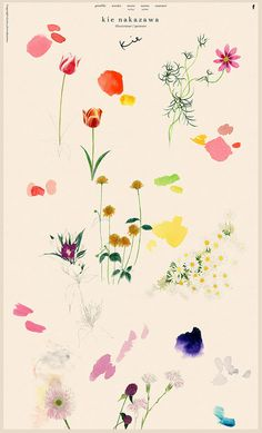 Fifteen Gardening Recommendations On How To Get A Great Backyard Garden Devoid Of Too Much Time Expended On Gardening Kei Nakazawa Website - Obana Daisuke, Kei Nakazawa Illustration Simple, Pattern Illustration, Botanical Illustration, Graphic Illustrations, Inspiration Art, Sketchbook Inspiration, Graphic Design Inspiration, Japanese Graphic Design, Graphic Design Art