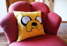 adventure time jake pillow almofada jake pattern jake cushion felt jake sewing craft jake