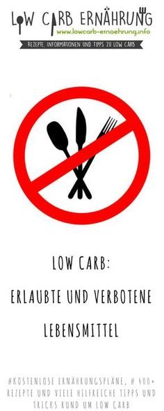 Low Carb – Erlaubte und verbotene Lebensmittel. Wir verraten Euch, welche Lebensmittel bei einer kohlenhydratarmen Ernährung erlaubt sind.