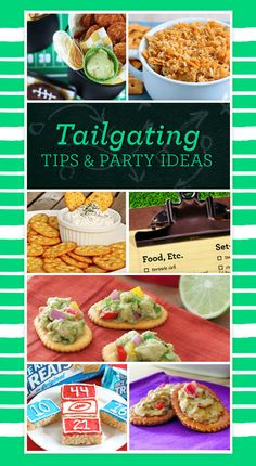 Have the best tailgate party this season, whether you're at home or at the game!