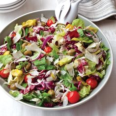 """Big Italian Salad 
