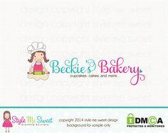 Bakery Logo Bakers Logo Premade Logo Design by stylemesweetdesign