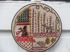 Woodland Sampler by Teachart - yes, I own this, but its a great example of what I love!  <3