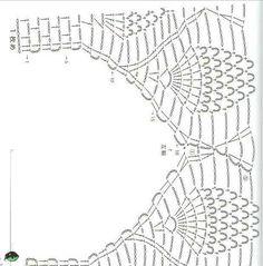 Head-Turning Crochet a Bodycon Dress Top Ideas Motif Bikini Crochet, Crochet Bra, Crochet Tunic, Crochet Doilies, Crochet Clothes, Diy Crafts Crochet, Crochet Projects, Crochet Symbols, Crochet Patterns