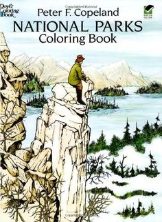 National Parks Coloring Book on www.amightygirl.com