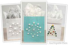 DIY Gift Bags: Cute as a Button