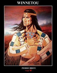 Winnetou Pierre Brice art apacher 2017 tora fantasy