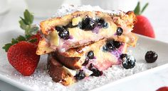 Blueberry brie monte cristo... holy hell