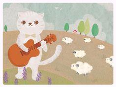 kittens. lambs. ukes.