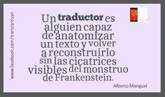Un traductor...
