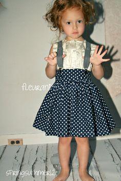 Girl Twirl Skirt Fleur and Dot