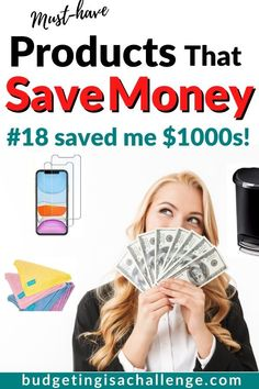 Clever Products That Will Save You Money Over Time - Budgeting is a Challenge Save Money On Groceries, Save Your Money, Ways To Save Money, Best Money Saving Tips, Money Tips, Saving Money, Household Income, Household Items, Money Saving Challenge