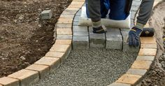 Set up garden paths correctly - Durable garden paths are not just a question of the right surface material – what matters most is - Love Garden, Shade Garden, Home And Garden, Outdoor Projects, Garden Projects, Diy Garden Fountains, Different Plants, Types Of Houses, Diy Garden Decor