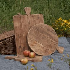 Park Hill Collection Old Pine Cutting Boards (Set-3) - SDF430