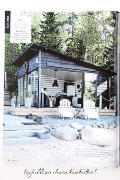 Summer kitchen, not much needed. Tiny House, Tiny Beach House, Dream Beach Houses, Outdoor Rooms, Outdoor Living, Haus Am See, Beach Shack, Summer Kitchen, Exterior