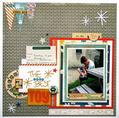 The Best Toy - Crate Paper & Fancy Pants by Monique L.  at @studio_calico