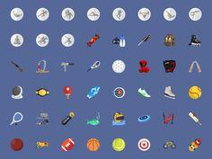 @2xSport Flat Icons by Stafie Anatolie
