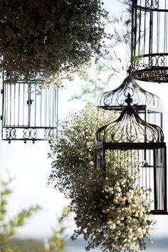 Casa & Flores: Gaiolas decorativas