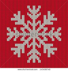 Snowflake Christmas ornament on red background. Knitted seamless vector pattern, Snowflake Christmas ornament on red background. Knitted seamless vector pattern Snowflake Christmas ornament on red background. Xmas Cross Stitch, Counted Cross Stitch Patterns, Cross Stitch Designs, Cross Stitching, Cross Stitch Embroidery, Red Background, Background Patterns, Wallpaper Patterns, Red Wallpaper