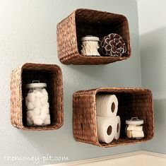 Try This: Hanging Baskets for Bathroom Storage   Craft Ideas ... on tray for bathroom, christmas for bathroom, wall for bathroom, lighting for bathroom, chandelier for bathroom, flower for bathroom, chair for bathroom, sign for bathroom, lamp for bathroom, pot for bathroom, plants for bathroom, mug for bathroom, sunflowers for bathroom, green for bathroom, statue for bathroom, edging for bathroom, bowl for bathroom, trees for bathroom, bench for bathroom, clock for bathroom,