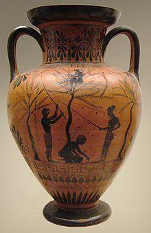 La agricultura era la actividad principal en el uso de los esclavos, Museo Británico.