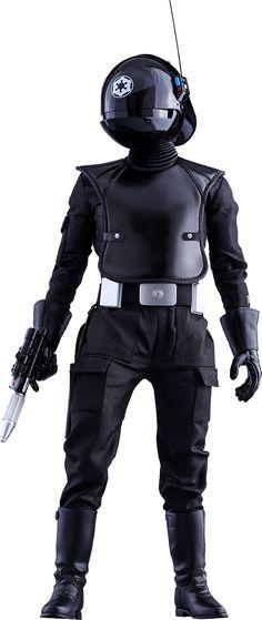 Star Wars Death Star Gunner Sixth Scale Figure by Hot Toys Star Wars Film, Rpg Star Wars, Star Wars Clone Wars, Star Wars Clones, Starwars, Costume Star Wars, Figurine Star Wars, Star Wars Episode Iv, Star Wars Gifts