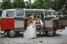 get a vintage VW bus for your portraits!