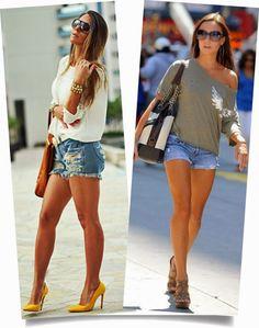 Short Jeans: Conforto e Estilo, Use e Abuse! | Jeito Simples de Ser