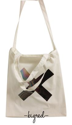 Art band the xx] [retro canvas shopping bags Harajuku street - Taobao