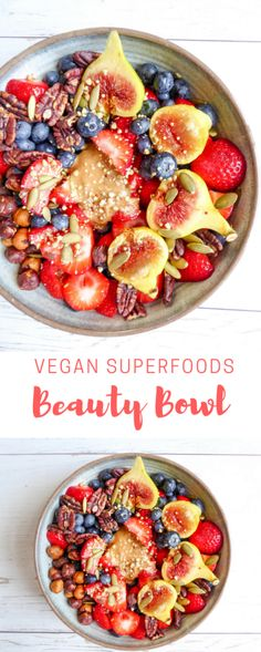SUPERFOODS BEAUTY BOWL | Vegan | No Sugar Added