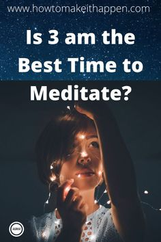 Is 3 am The Best Time to Meditate? 3 am meditation: is this the best time to meditate? Find out about the BEST TIME FOR MEDITATION. Meditation is one of the things to do at when you are ALONE. Read more on 3 am meditation: is this the best time t. Meditation Benefits, Meditation Practices, Guided Meditation, Self Development, Personal Development, 3 Am, Meditation For Beginners, Spiritual Awakening, Spiritual Enlightenment