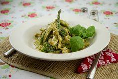 Creamy Pesto Chicken Primavera / @DJ Foodie / DJFoodie.com