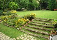 jardines con piedras grandes ideas